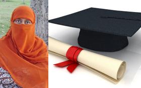 محترمہ شاہدہ نعمانی کو پی ایچ ڈی کی تکمیل پر شیخ الاسلام کی طرف سے خصوصی مبارکباد