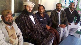 کوئٹہ: تحریک منہاج القرآن کے عہدیداران کی پیر ضیاءالدین القادری الگیلانی سے ملاقات