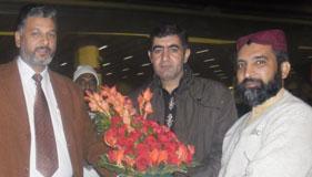 پاکستان: اصغر علی بھنڈر (ناظم MQI جاپان) کی پاکستان آمد