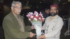 ڈنمارک: چودھری محمد سرور (ممبر سپریم کونسل) کی پاکستان آمد