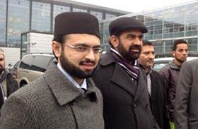 ڈنمارک: ڈاکٹر حسن محی الدین قادری کا کوپن ہیگن ایئر پورٹ پر شاندار استقبال