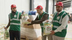 فرانس: منہاج ویلفیئر فاؤنڈیشن کی جانب سے شام (Syria) میں امدادی اشیاء روانہ
