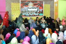 گوجرہ: منہاج القران ویمن لیگ کے زیراہتمام سیدہ زینب (سلام اللہ علیہا) کانفرنس