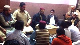 پاکپتن شریف: تحریک منہاج القرآن کا تنظیمی اجلاس