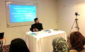 "Dr. Hassan Mohi-ud-Din Qadri speaks at seminar on ""Delegitimizing the Al-Qaeda Narrative"""