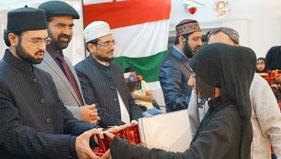 ڈنمارک: سالانہ تقسیم اسناد کی تقریب میں ڈاکٹر حسن محی الدین قادری کی شرکت