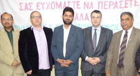 یونان: منہاج پیس اینڈ اینٹی گریشن کونسل کے زیر اہتمام کرسمس سیمینار