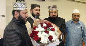 ہالینڈ: مسلمانوں کو آپس میں باہمی اخوت کے رشتے کو مضبوط بنانے کی ضرورت ہے۔ علامہ حافظ نذیر احمد قادری