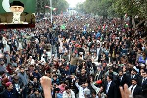 آئین کے آرٹیکل 38 کا انقلاب لائیں گے۔ ڈاکٹر محمد طاہر القادری کا مہنگائی اور کرپشن کیخلاف احتجاجی ریلی سے خطاب
