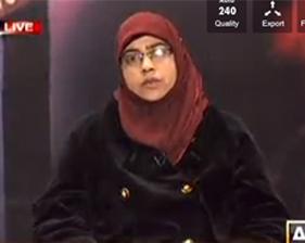 Razia Naveed on ARY News in program Sawal Yeh Hai