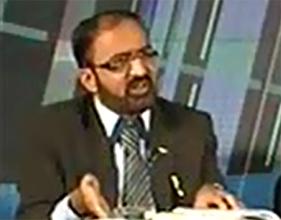 Umar Riaz Abbasi on News One in program Akhir Kiyon