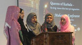 ناروے: منہاج القرآن ویمن لیگ کے زیراہتمام کوئینز آف کربلا کانفرنس کا انعقاد