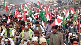 لودہراں: تحریک منہاج القرآن کی جشن میلاد النبی (ص) کے سلسلہ میں موٹر سائیکل ریلی