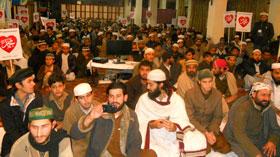 پشاور: عالمی میلاد کانفرنس 2014