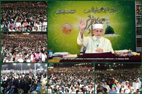 عالمی میلاد کانفرنس 2014، بنگلور انڈیا اور پاکستان کے 250 شہروں میں عظیم الشان اجتماعات