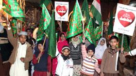 کوہاٹ: تحریک منہاج القرآن کے زیراہتمام ماہ ربیع الاول کے استقبال میں جلوس کا انعقاد