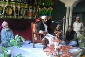 تحریک منہاج القرآن منگلہ کے زیراہتمام محفل میلاد