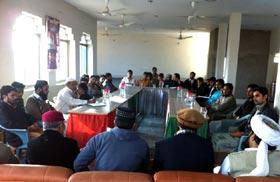 ایگزیکٹو کونسل اجلاس تحریک منہاج القران تحصیل پاکپتن شریف