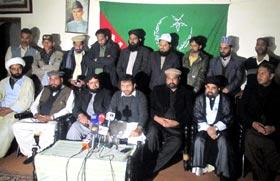 کوئٹہ: مرکزی ناظم علماء کونسل سید فرحت حسین شاہ کی پریس کانفرنس، لواحقین شہدا ہزارہ برادری سے اظہار ہمدردی