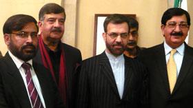 اسلام آباد: ناظم اعلی تحریک منہاج القرآن کی اسلامی جمہوریہ ایران کے قومی دن کی تقریب میں شرکت