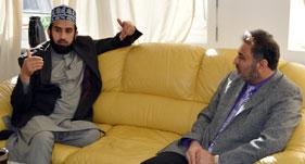 ڈنمارک: منہاج القرآن انٹرنیشنل برلن (جرمنی) کے صدر میاں عمران الحق کی علامہ عبدالستار سراج سے ملاقات