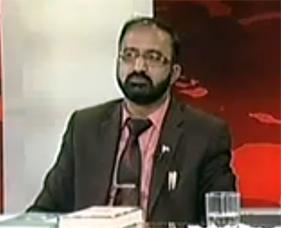 Watch Umar Riaz Abbasi (PAT) with Kashif Abbasi on ARY News (12th Feb 2014)