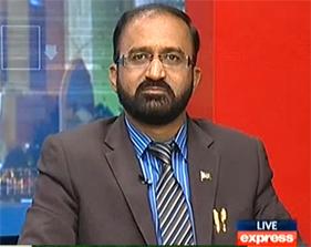 Watch Umar Riaz Abbasi (PAT) with Javed Chouhdry on Express News (17th Feb 2014)