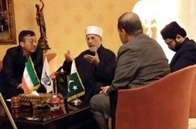 Pakistan-Iran should unite for regional peace: Dr Qadri to Iranian News Agency