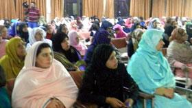 اسلام آباد: منہاج القرآن ویمن لیگ کے زیراہتمام قائد ڈے کے سلسلہ میں سیمینار کا انعقاد