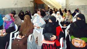 جہلم: منہاج القرآن ویمن لیگ کے زیراہتمام ٹریننگ ورکشاپ
