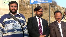 چوآسیدن شاہ: ڈائریکٹر انٹرفیتھ ریلیشنز کا کٹاس راج مندر کا وزٹ