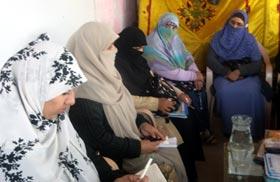منہاج القرآن ویمن لیگ راولپنڈی کی تنظیم نو