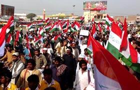 رحیم یار خان: پاکستان عوامی تحریک کی مہنگائی، بیروزگاری، کرپشن اور دہشت گردی کے خلاف احتجاجی ریلی