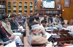 لاہور : زونل ناظمین کو سوشل میڈیا کیمپس کی بریفنگ