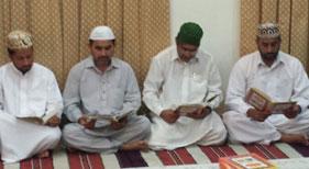 بحرین: حاجی عبدالرزاق یعقوب (مرحوم) کے لئے قرآن خوانی