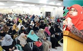 اسلام نے عورت کو جو حقوق دیے ہیں وہ قابل تحسین ہیں، خواتین کے عالمی دن کے موقع پر سیمینار سے مقررین کا خطاب