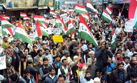 سیالکوٹ: پاکستان عوامی تحریک کی مہنگائی، بیروزگاری، کرپشن اور دہشت گردی کے خلاف احتجاجی ریلی