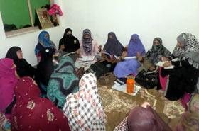 منہاج القرآن ویمن لیگ حلقہ پی پی 10-A راولپنڈی کی تنظیم نو