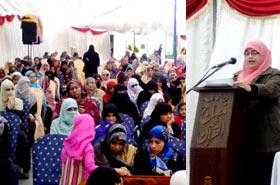 گوجرانوالہ: منہاج القرآن ویمن لیگ کا شیخ الاسلام ڈاکٹر محمد طاہرالقادری کی سالگرہ کے موقع پر سیمینار کا انعقاد