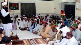 سوئی: تحریک منہاج القرآن کے زیراہتمام میلاد النبی صلی اللہ علیہ وآلہ وسلم کانفرنس