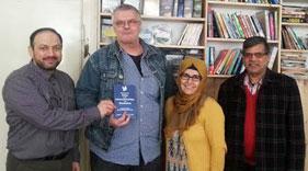 ضلعی پولیس انسپکٹر اور صوبائی سوشل آفیسر کا منہاج القرآن آسٹریا سنٹر کا دورہ