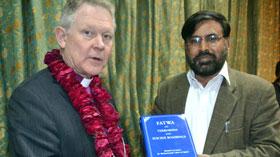 لاہور: ڈائریکٹر انٹرفیتھ ریلیشنز سہیل احمد رضا کی آرچ بشپ آف سویڈن اینڈرس ہیرلڈ ویجریڈ سے ملاقات