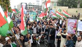 نا اہل سیاستدانوں نے قرارداد پاکستان کی حقیقت کو فراموش کر کے بانی پاکستان قائد اعظم رحمۃ اللہ علیہ کی روح کو تکلیف دی: خرم نواز گنڈاپور