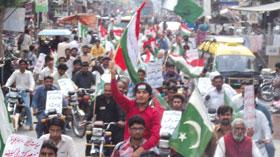 اوکاڑہ: پاکستان عوامی تحریک کے زیراہتمام استحکام پاکستان موٹر سائیکل ریلی