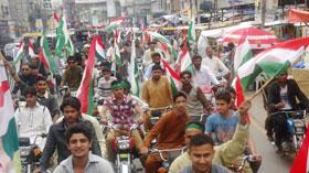 جہلم: پاکستان عوامی تحریک کے زیراہتمام پاکستان بچاؤ ریلی
