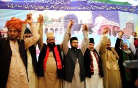 مٹیاری (سندھ): انٹرنیشنل مشائخ امن کانفرنس