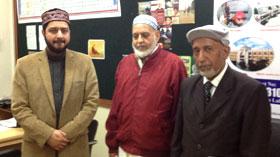 لاہور: علامہ حافظ محمد ادریس الازہری، حاجی امان اللہ اور حاجی محمد قیوم کا دورہ مرکزی سیکرٹریٹ