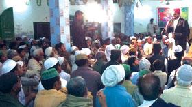 منڈی بہاؤالدین: تحریک منہاج القرآن کے زیراہتمام پیغام عشق مصطفی (ص) کانفرنس