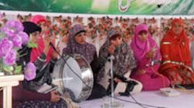 میرپور آزاد کشمیر: منہاج القرآن ویمن لیگ کے زیراہتمام محفل میلاد مصطفی (ص)