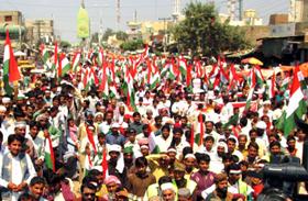 لودہراں: پاکستان عوامی تحریک کے زیراہتمام مہنگائی، کرپشن، نجکاری اور دہشت گردی کی خلاف پرامن احتجاجی ریلی